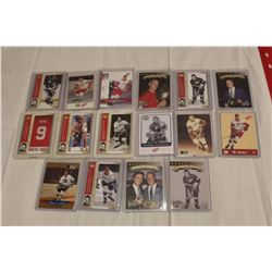 Lot of 16 Gordie Howe Hockey Cards