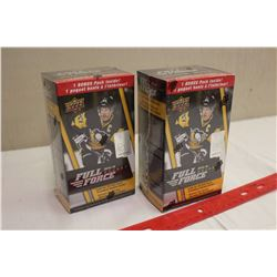 Lot of 2 Sealed Boxes of 2015-16 Full Force Hockey Cards; 8 Packs