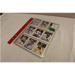 Complete Set of 1990-91 O-Pee-Chee Premier Hockey Cards (#1-132); loaded with Rookie Cards