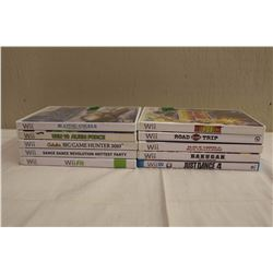 Lot of 10 Wii Video Games