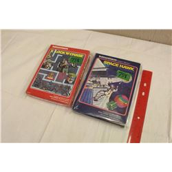 Lot of 2 Intellivision Video Game Cartridges