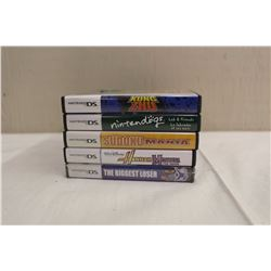 Lot of 6 Nintendo DS Video Games