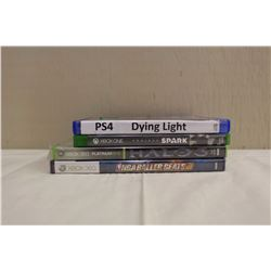 Lot of 4 Video Games
