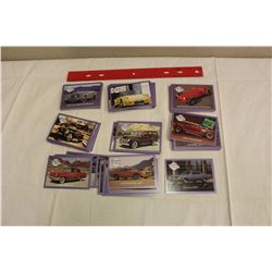 Complete Set of Dream Machines (Classic Cars) – 110 Cards