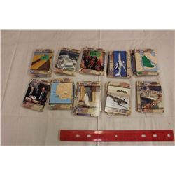 Lot of 250+ Desert Storm Collector Cards