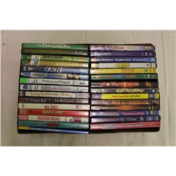 Lot of Children Themed DVD Movies