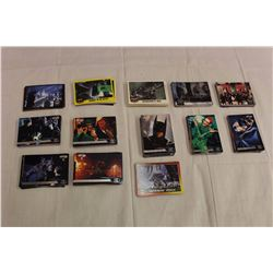 Lot of 250 Batman Collector Cards, 1980's & '90's