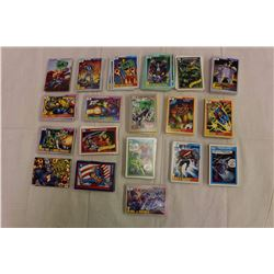 Lot of Super Heroes Cards, DC & Marvel