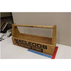 Original Macleod's Wooden Toolbox