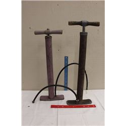 Pair Of Balloon Tire Bicycle Pumps