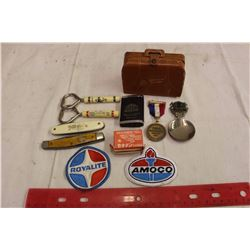 Lot Of Misc. (Advertising, Badges Etc)