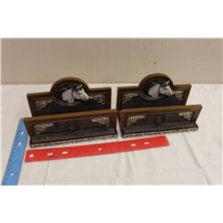 Pair Of Western Style Bookends