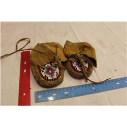 Pair Of Children Moccasins