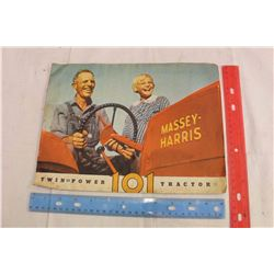 Massey Harris 101 Tractor Brochure