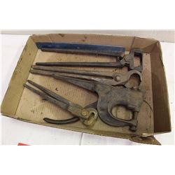 Lot Of Blacksmith Tools