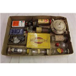 Lot Of Misc. Spice Tins And Related