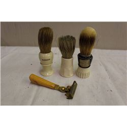 Lot OF Shaving Brushes