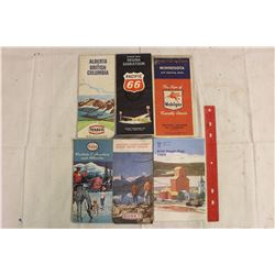 Lot Of Vintage Maps (6)