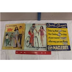 Lot Of Macleods Catalogs (3)