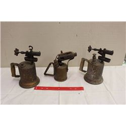 Lot Of Blowtorches (3)