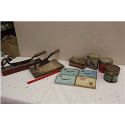 Large Lot Of Tobacco Related (Players Flats, Repeater Tins, Turret, Ogden, Cutters)