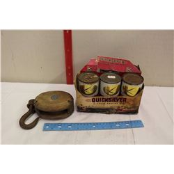 Quicksilver 2-Cycle Engine Oil (5)(Full) w/A Pulley