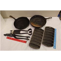 Lot of Antique Metal Kitchenware