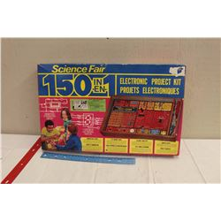 Science Fair 150 In 1 Electronic Project Kit