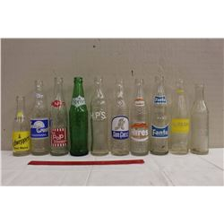 Collectible Pop Bottles (No Grape, Sprite, Fanta, HPS N Battleford, Hires, Sunrest, Starlite Saskato