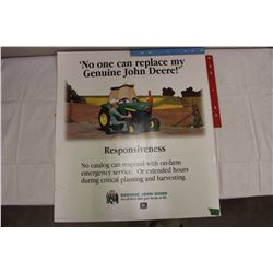 Vintage 1996 John Deer Dealer Showroom Poster, DS