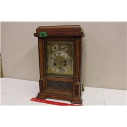 Antique 1920's German Junghams West Minister Chime Mantle Clock