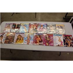 Lot Of Vintage Playboy Magazines (1993-1995)