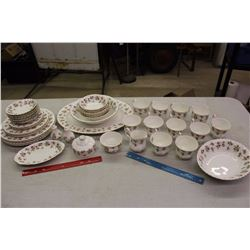 Large Lot Of Matching Royal Albert Dishware