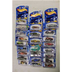 Lot Of NIB Hotwheels Cars (24)