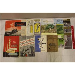 Collection Of Assorted Manual And Brochures