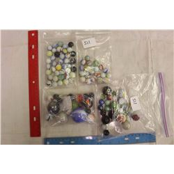 Collection Of Over 100 Rare Early Marbles
