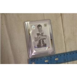 2017 Rare Bobby Orr Autographed Stamp Card