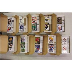 Lot Of 4000 Sports Card Mostly Hockey