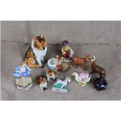 Lot of Assorted Figurines