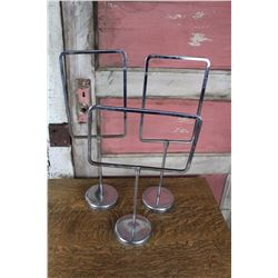 """Lot of(3) Table Top Retail Sign Display Stands (22""""&18"""")"""