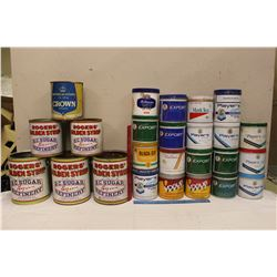 Lot of Assorted Tobacco Tins&Rogers' Golden Syrup Tins
