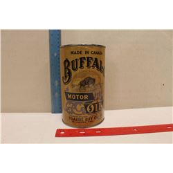 Fantasy Buffalo Motor Oil Tin (1 Imperial Quart)(Empty)