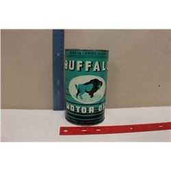 Buffalo Motor Oil Reproduction Tin (1 Imperial Quart)(Empty)