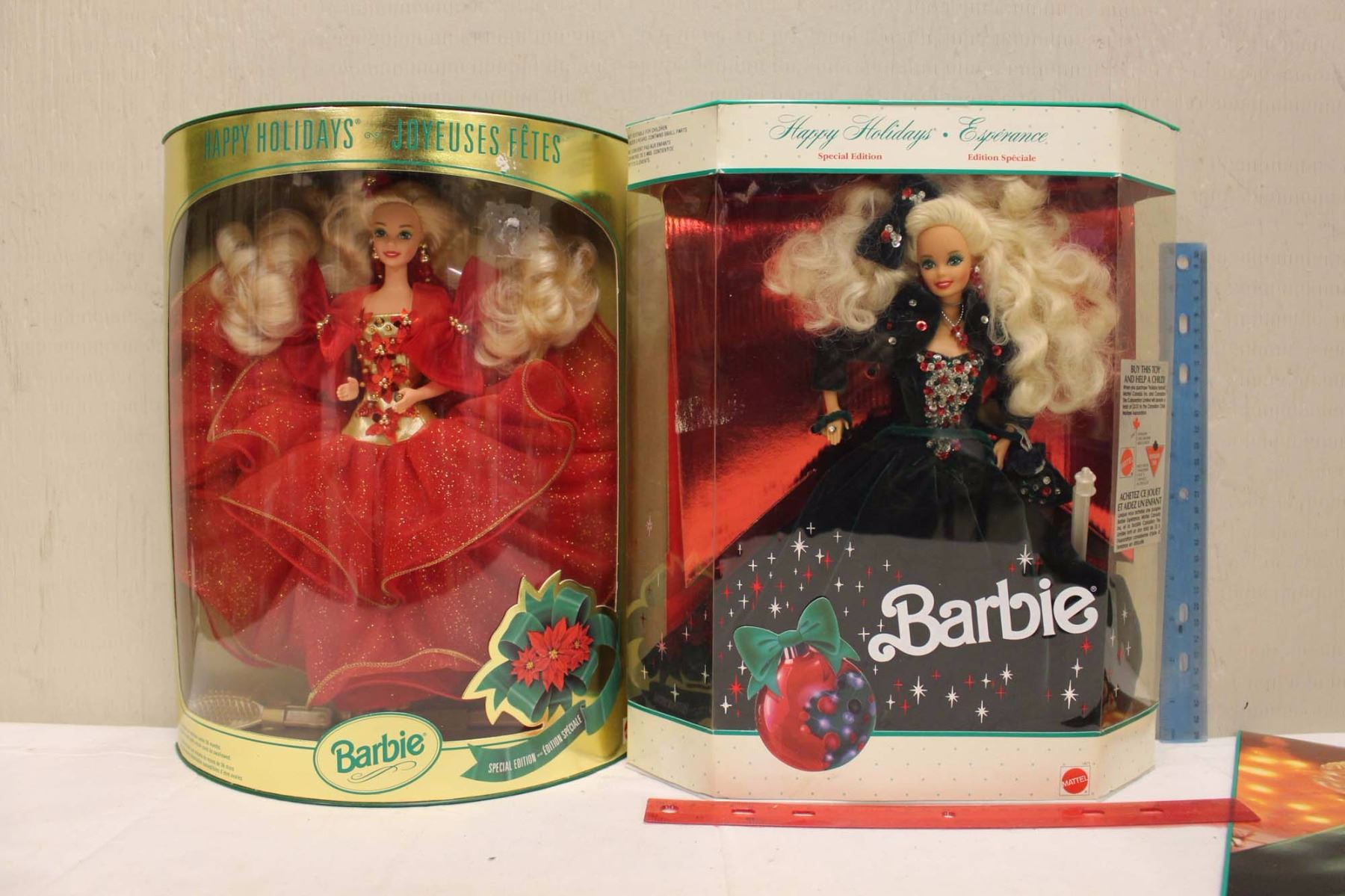 Image 1 Happy Holiday Special Edition Barbie Dolls 219911993