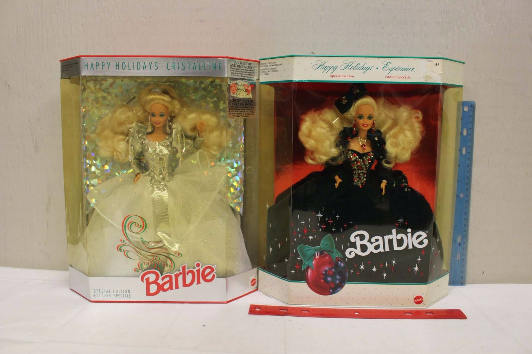 Image 1 Happy Holiday Special Edition Barbie Dolls 219911992