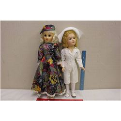 1946 Miss Curity Doll&A 1958 Mrs Revlon Doll