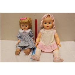 1961 Dee An Cee Toddler(1)&Baby(1) Dolls