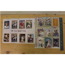 Lot of Baseball Cards (1990-91)(Topps, Fleer Ultra, O Pee Chee, Etc)