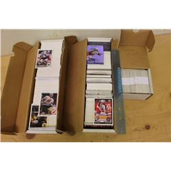 Huge Lot of 1990-91 Upper Deck& Pro Set Hockey Cards