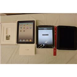 Working iPad, Wifi, 64GB, 3G, Includes Cable And Case